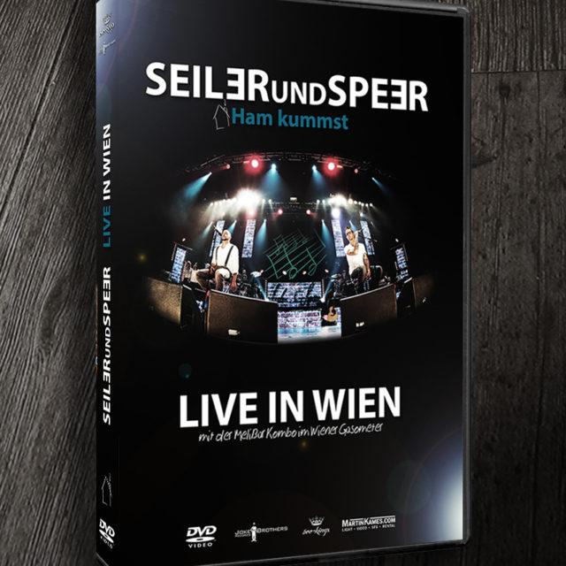 Seiler und Speer DVD Live in Wien Cover